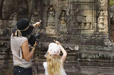 INT-C-CFSP05 5 Days Cambodia Family Tour from Siem Reap to Phnom Penh