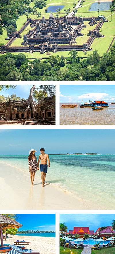 Cambodia Tour, 6 Days Cambodia Honeymoon Trip