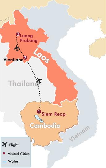 time in laos cambodia