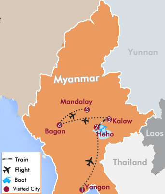 Myanmar Off the Beaten Track Tour