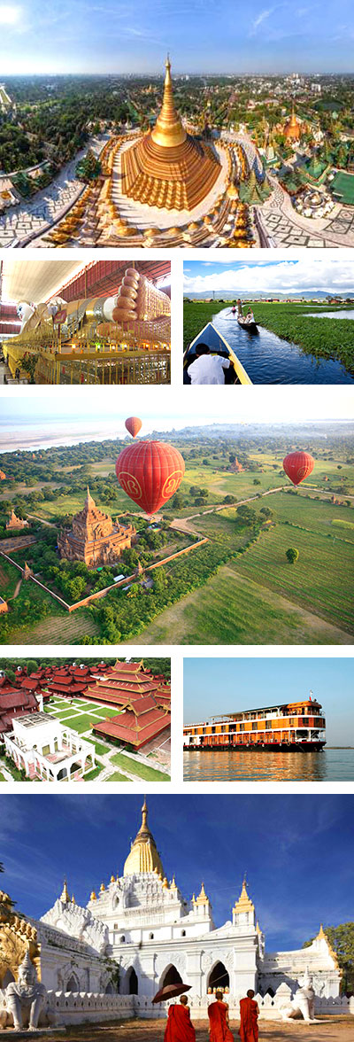 Myanmar Tour, 10 Days Myanmar Highlight Trip