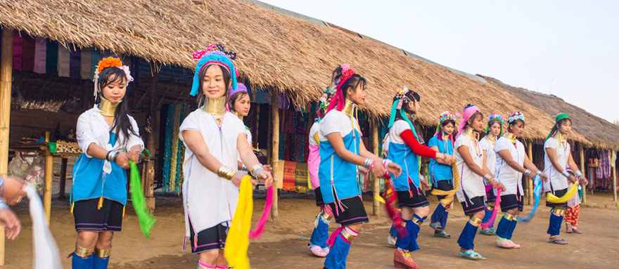 INT-M-LN12  12 Days Discover Long Neck Hill Tribe of Myanmar Tour