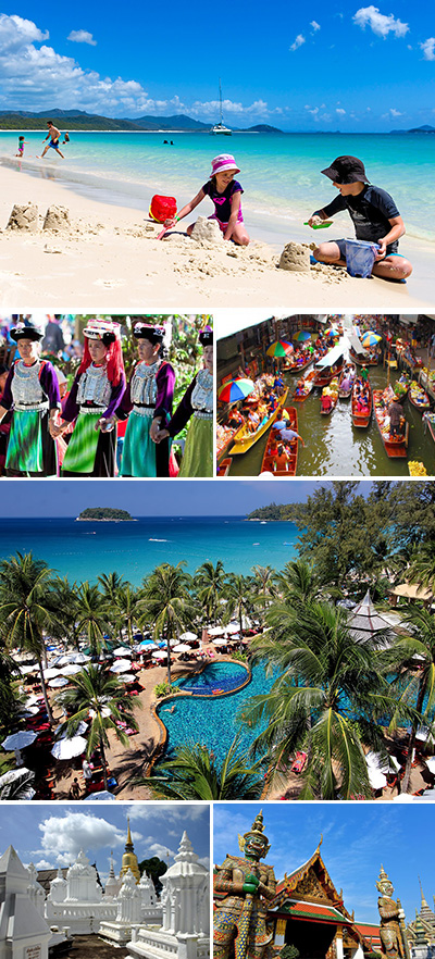 Thailand Tour with Beach Relaxing Tour