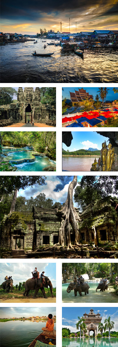 11 Days Cambodia, Laos Highlights Tour Package