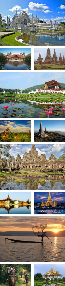 Cambodia, Laos, Thailand and Myanmar Higylights Tour Package