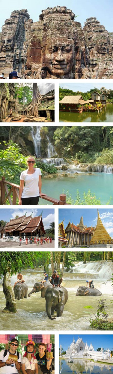 Cambodia Laos Thailand 15 Days Tour Package