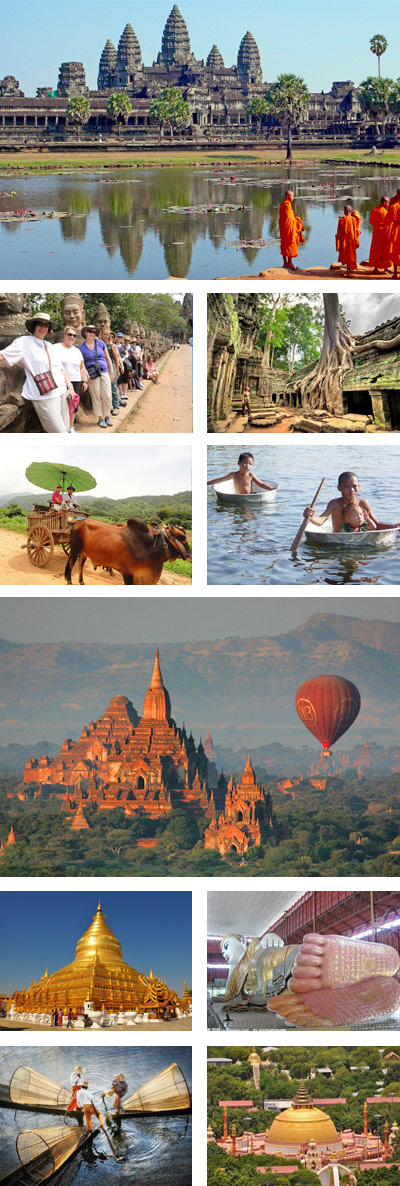 Cambodia Myanmar 12 Days Tour Package