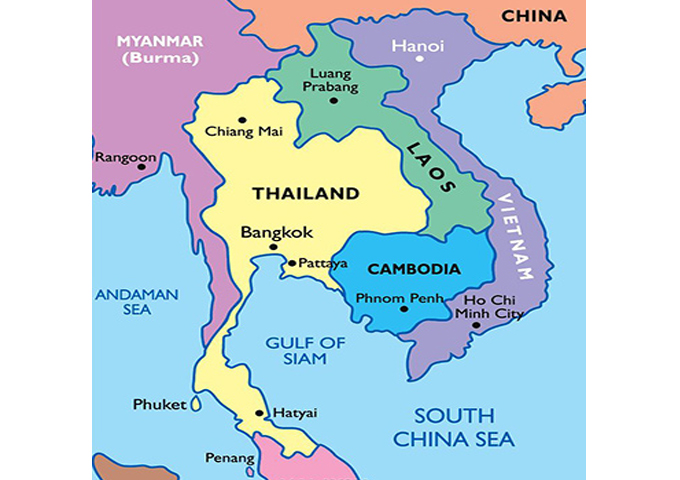 What is Indochina? How Many Countries are Included?