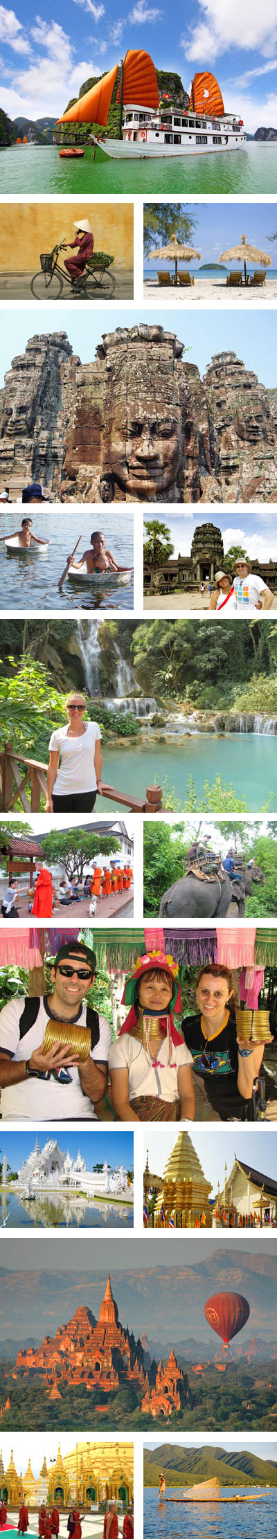 Indochina Panorama 24 Days Tour Package
