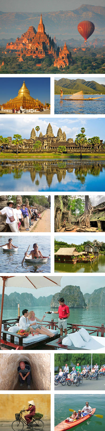 Myanmar Cambodia 19 Days Tour Package