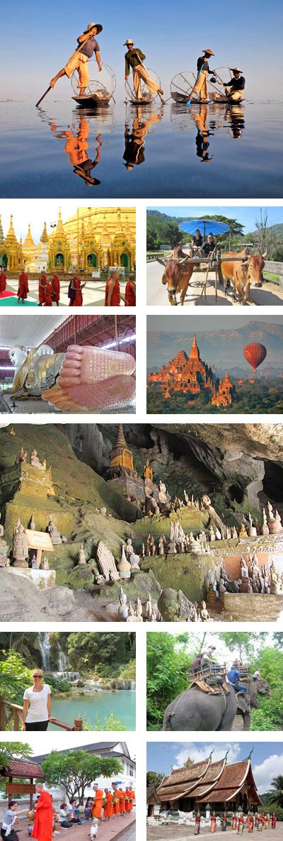 Myanmar Laos 13 Days Tour Package