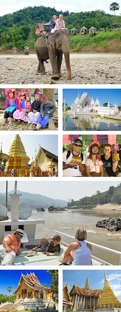 Classic Thailand & Laos Tour Package