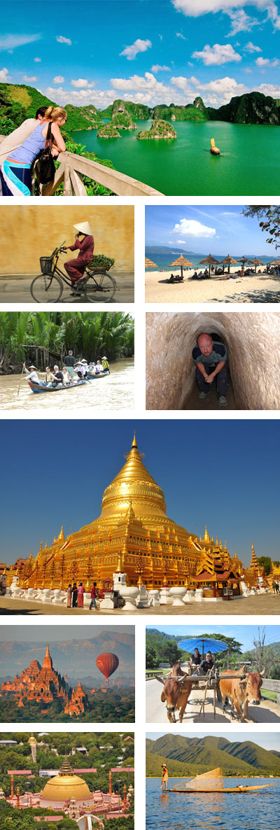 Vietnam Myanmar 17 Days Tour Package