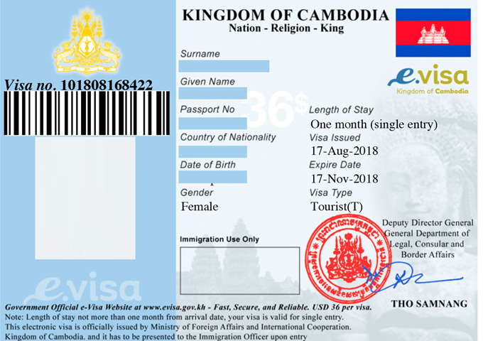Visas For Vietnam Cambodia And Laos