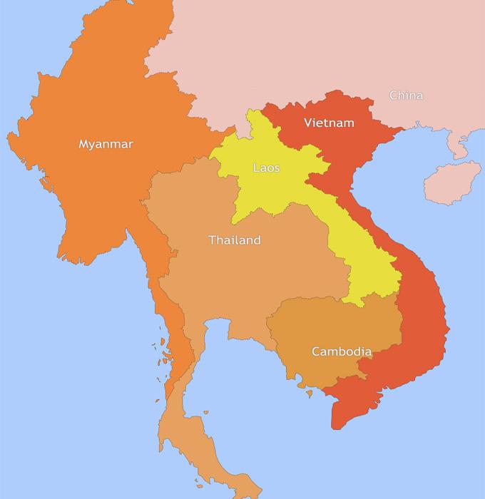 Maps of Indochina