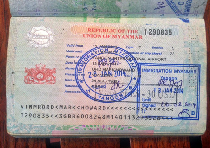 How To Apply Visas For Myanmar And Laos Tour