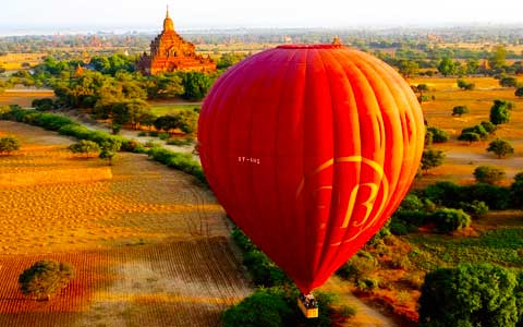 How to Enjoy the Hot Air Balloon when Traveling Myanmar (Burma)?