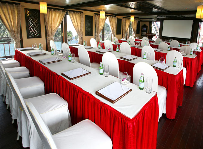 Conference Cabin of Paradise Luxury Cruise