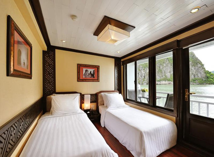 Deluxe Cabin of Paradise Luxury Cruise