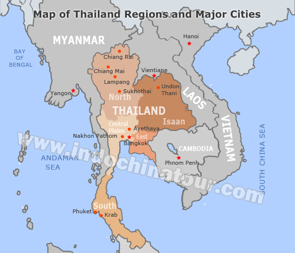 Lampang Thailand Map.Thailand Travel Maps Maps Of Thailand