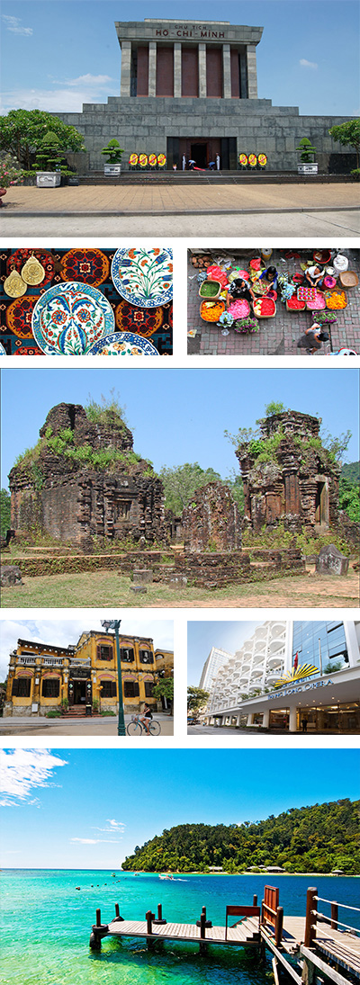 Vietnam and Cambodia Heritage Highlights with Beach Relaxing Tour
