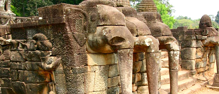 The most classic tour to vietnam and cambodia for Terrace of the elephants