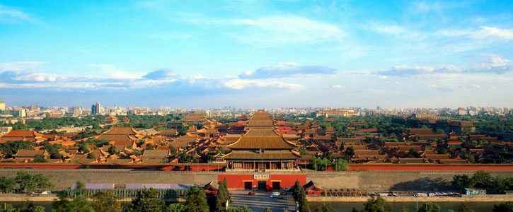 The Forbidden City - One of the Must-sees for Travelers who visit China for the first time.