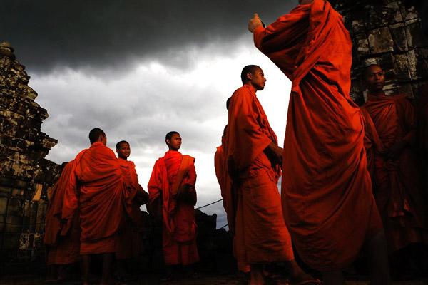 Kampuchea monks
