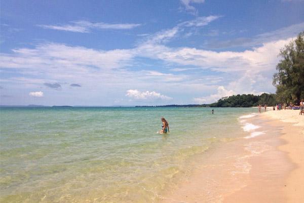 beaches in Sihanoukville