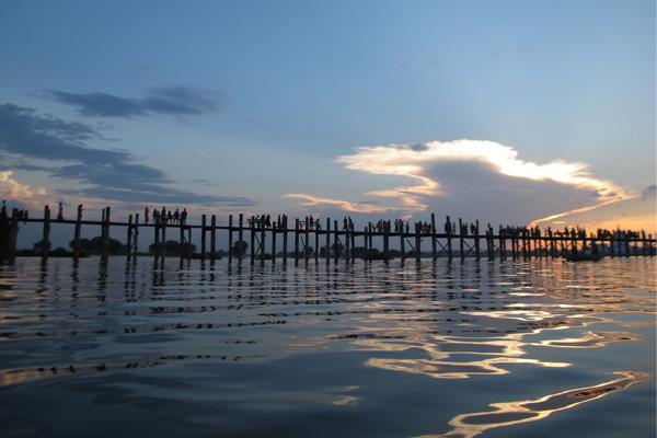 Beautiful natural scenery in Myanmar