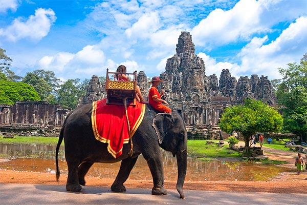 Beautiful scenery in Cambodia