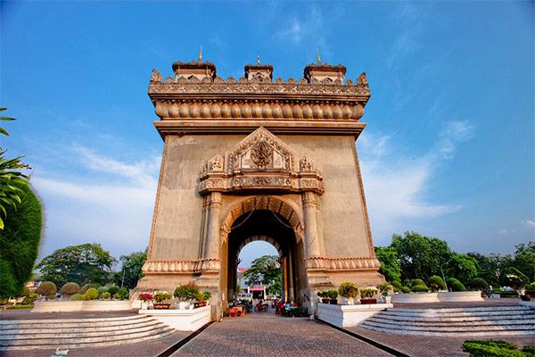 Patuxay Monument in Myanmar