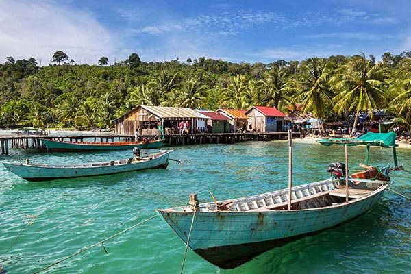 Kep Province is the famous beach town of Cambodia
