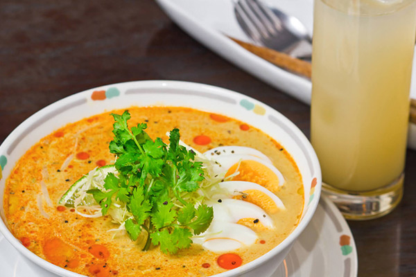 The national dish in Burma is known as the 'mohinga'