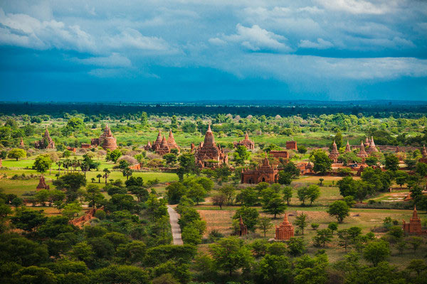 Pagodas of Myanmar are world famous