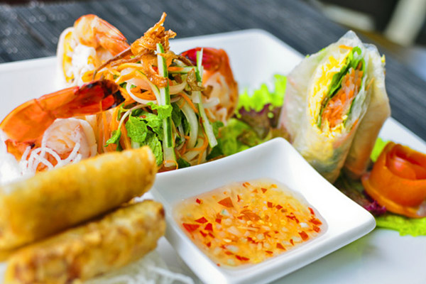 Thai food rejects simplicity and it demonstrate colour, texture and of course taste